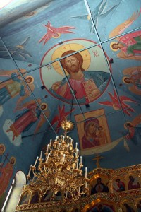 Роспись храма Рождества Иоанна Предтечи. Фото Артема Фалина.