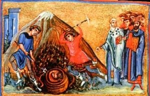 Третье (ок. 850) обретение главы Иоанна Предтечи