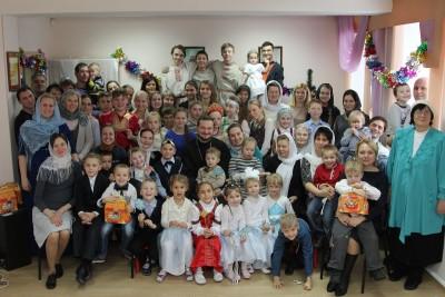 Воскресная школа. Рождество 2016 г.