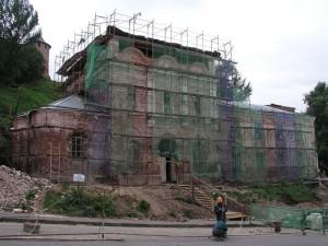 Вид храма на 22.06.2004