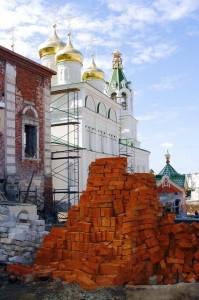 Реконструкция Спасской часовни