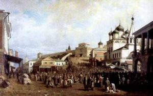 П.П. Верещагин. Рынок в Нижнем Новгороде