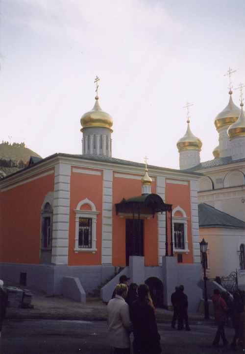 Спасская часовня после реставрации. Фото А.И. Давыдова. 4 ноября 2005 года