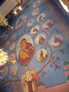 Роспись храма Рождества Иоанна Предтечи