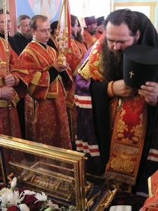 Поклонение честной деснице пророка Иоанна Предтечи. Фото с сайта Нижегородской епархии