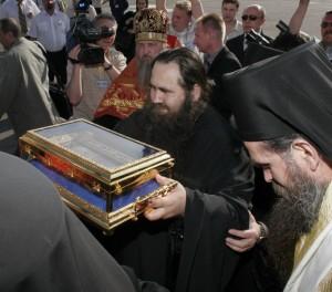 Встреча ковчега. Фото с сайта Нижегородской епархии