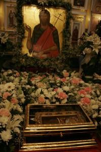 Десница Иоанна Предтечи. Фото с сайта Нижегородской епархии