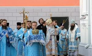 Освящение храма Рождества Иоанна Предтечи