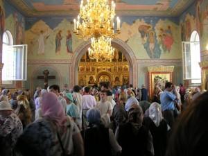 В храме Рождества Иоанна Предтечи. Фото с сайта Нижегородской епархии