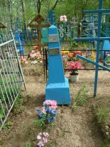 Лития на могиле бывшего псаломщика храма Седлова П.А.