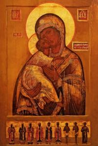 Икона Владимирской Оранской Божией Матери