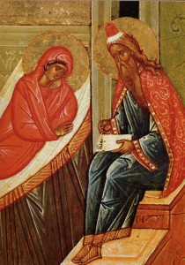 Св. пророк Захария и св. праведная Елисавета, родители Иоанна Предтечи