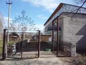Храм села Бармино в здании бывшего магазина