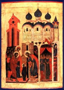 Введение Богородицы во храм. 16 век. Ярославль