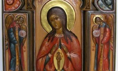 Икона Божией Матери, именуемая «Помощница в родах»